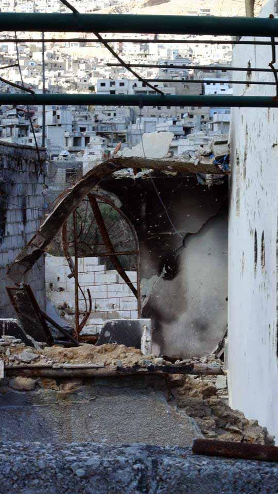 برزة البلد، دمشق، قاسيون
